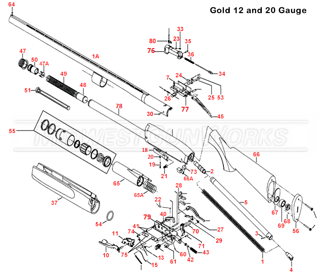 Gun Parts Diagram, Gun, Free Engine Image For User Manual