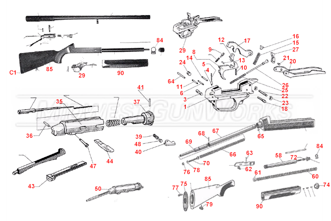 Beretta ES100 / Pintail Parts