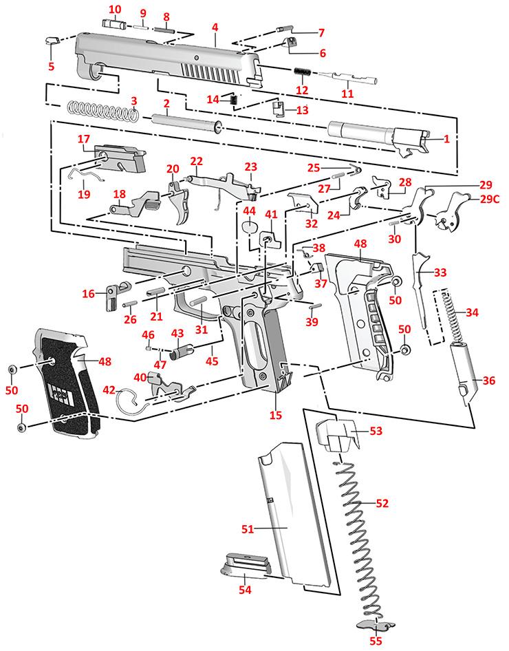 Sig Sauer P229 Parts