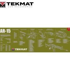 tekmat ar 15 12 x36 gun cleaning mat olive drab [ 1500 x 1500 Pixel ]