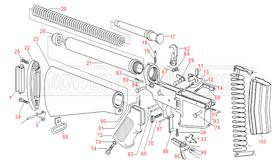 M4 Rifle Diagram, M4, Free Engine Image For User Manual