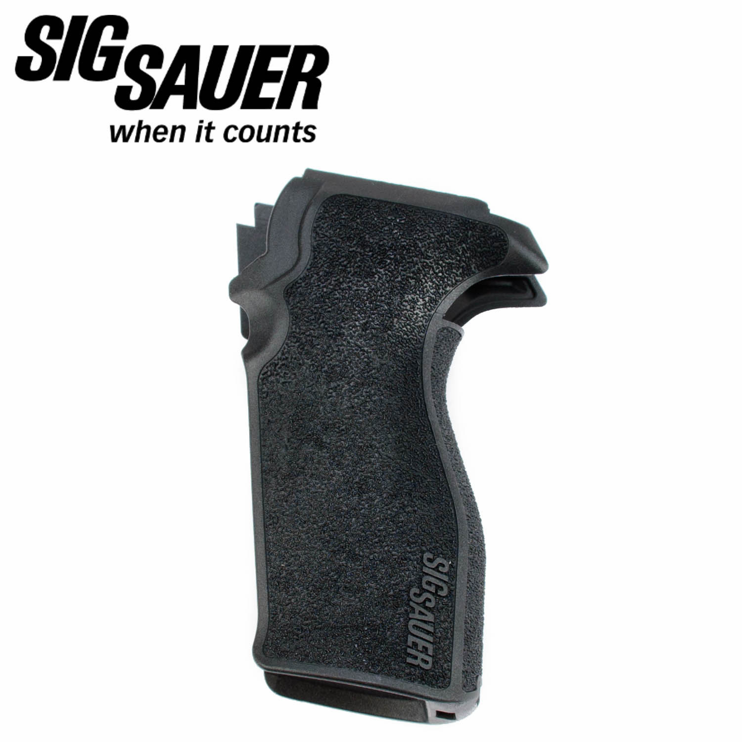hight resolution of sig sauer p227 one piece snap on grip da sa black