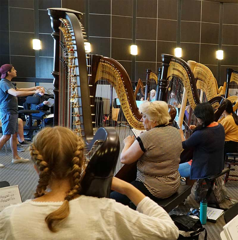 Midwest Harp Camp