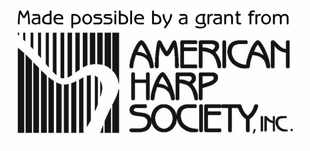 American Harp Society logo