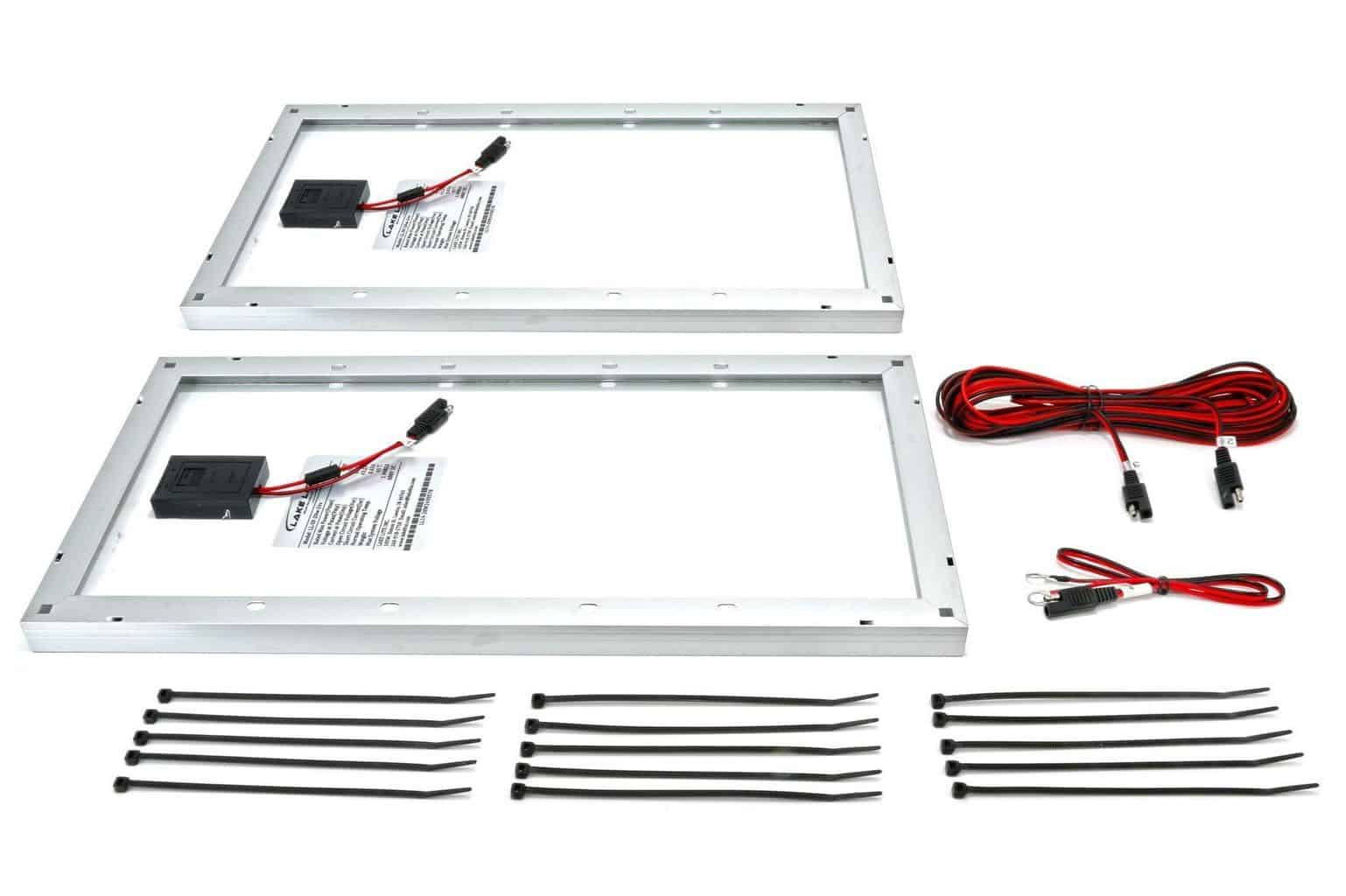 40 Watt 24 Volt Boat Lift Solar Charging Kit Midwest Marine Supplies
