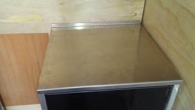 24 Aluminum Countertop