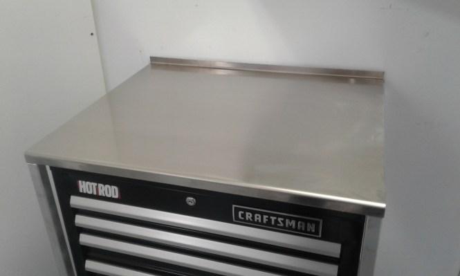 28 Aluminum Countertop