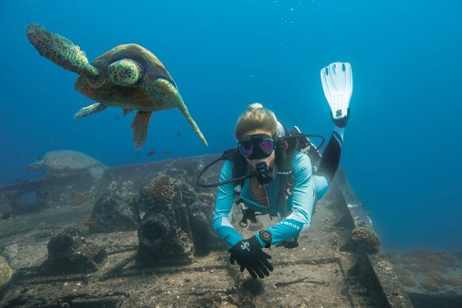 scubapro go sport with turtle
