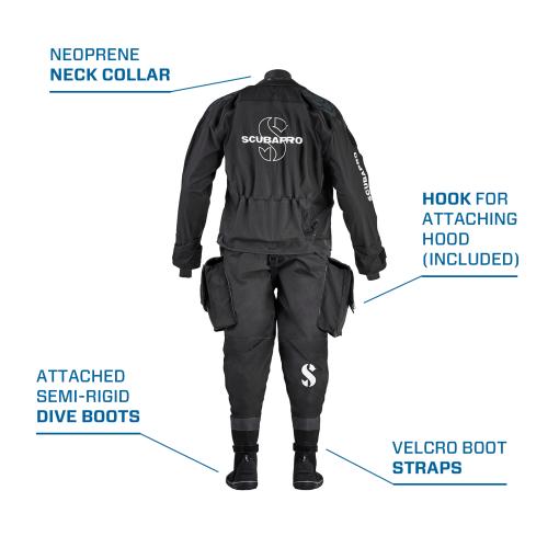 scubapro evertech breathable drysuit