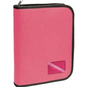 Standard 3 Ring Binder, Pink Dive Flag