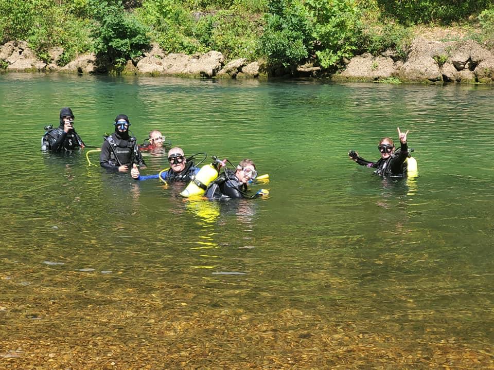 river divers