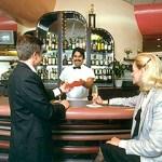 meeting in bar
