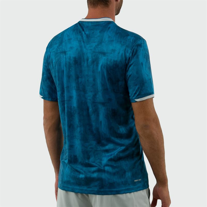 Lotto Top Ten Printed Crew. Mosaic Blue   Midwest Sports