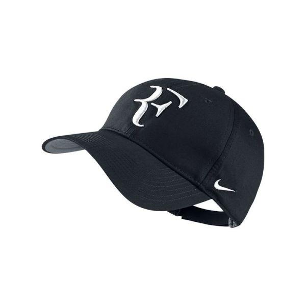 Nike Federer Rf Dri - Black Tennis Midwest