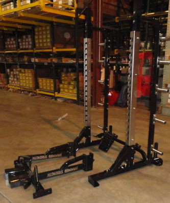 Midwest Used Fitness Equipment Hammer Strength Half Rack