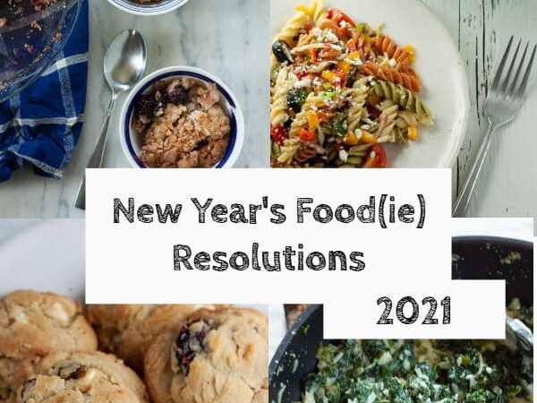 New Year's Food(ie) Resolutions