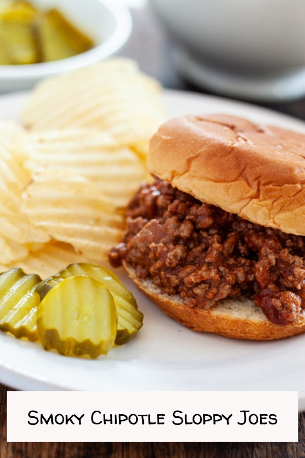 Smoky Chipotle Sloppy Joes