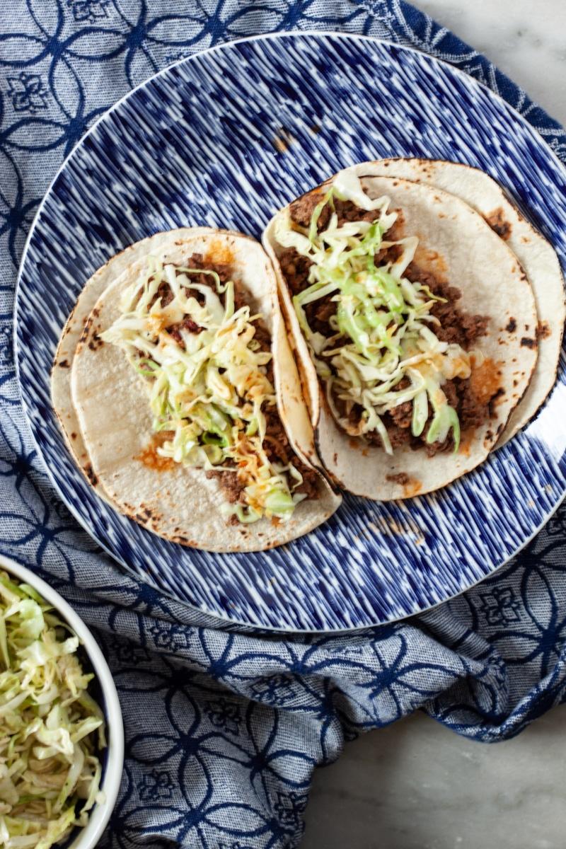 Ground Venison Tacos