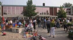 Midwzomer rommelmarkt op schoolplein
