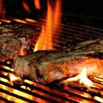 vlees op bbq