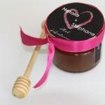 petit pot de miel pour mariage, cadeau invité mariage miel, petit pot miel mariage