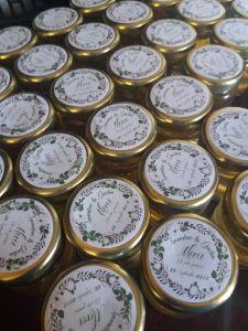 mini pot de miel personnalisé