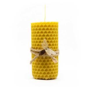 vela de cera de abeja pura