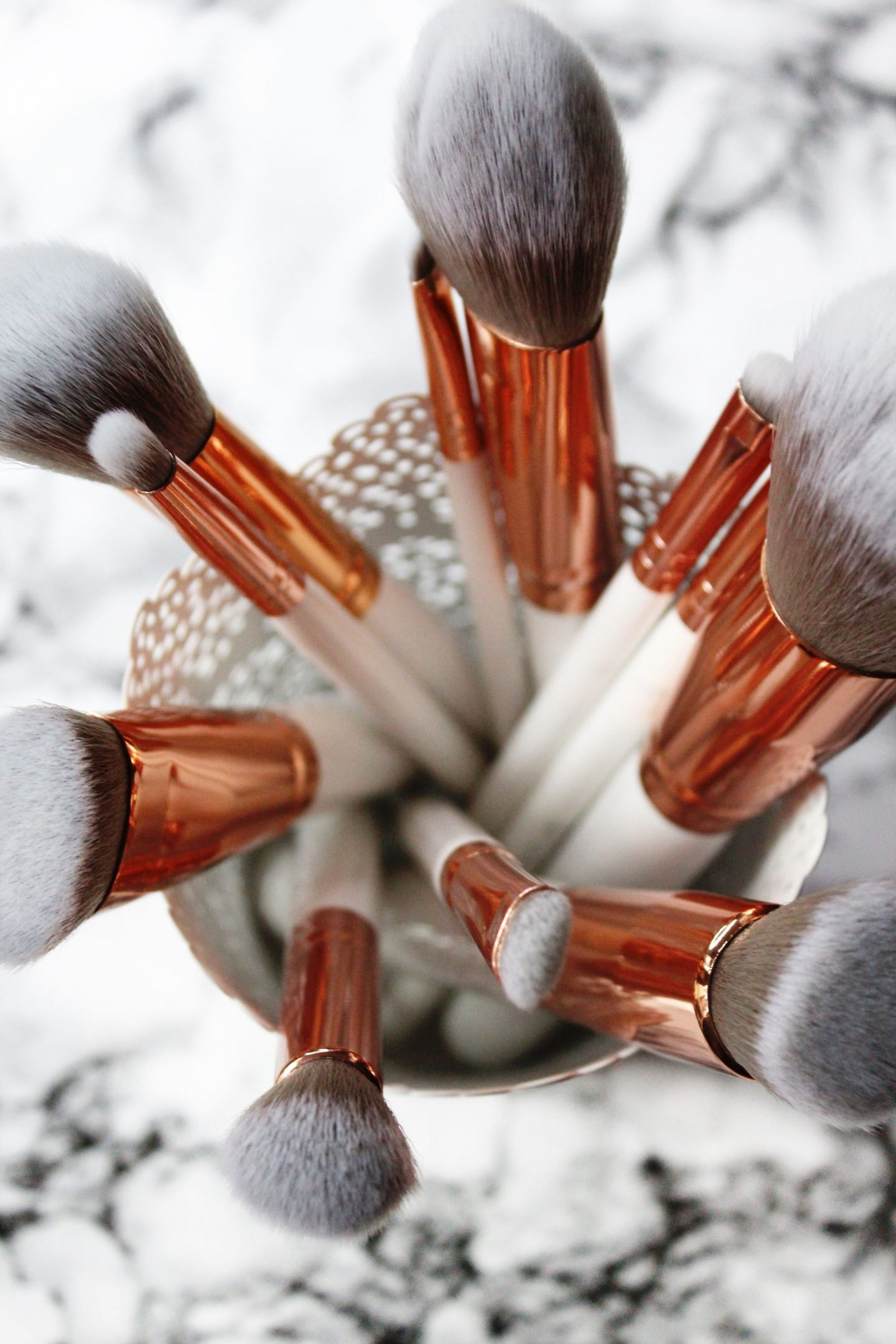 Spectrum Collections Brushes | Marbleous 12 Piece Set Review - Miel and Mint