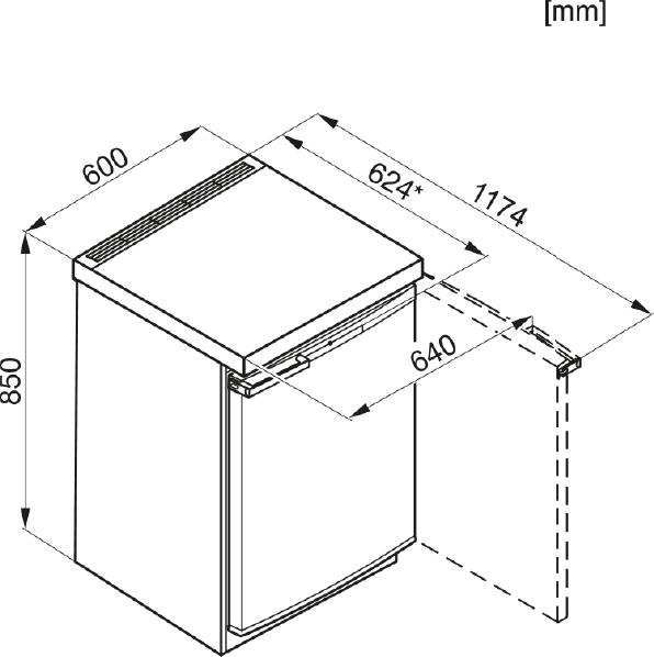 Miele F 12020 S-2 Freestanding freezer