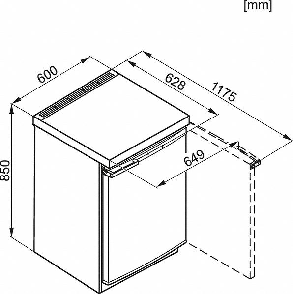 Miele K 12020 S-1 Freestanding refrigerator