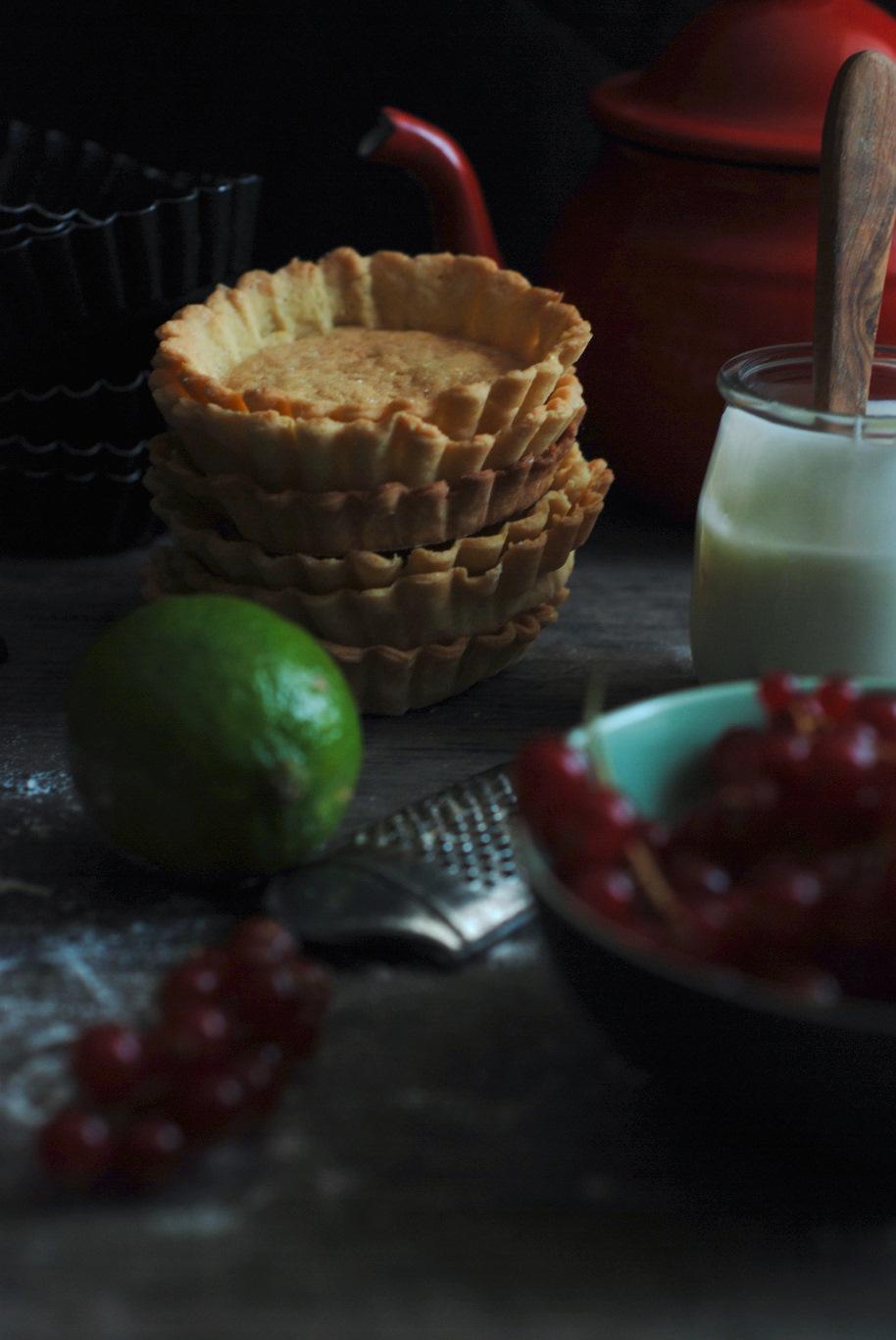 crostatine di farro yogurt cioccolato e ribes 2