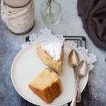 Torta di ricotta e grano (senza olio e senza burro)