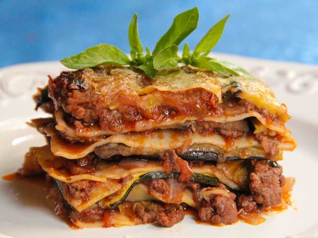 Lamb Lasagna with Eggplant and Zucchini