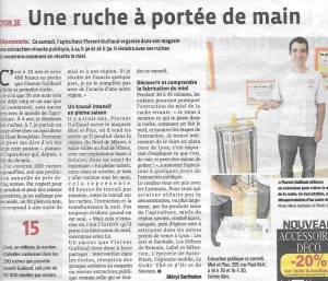 Article sur l'extraction du miel
