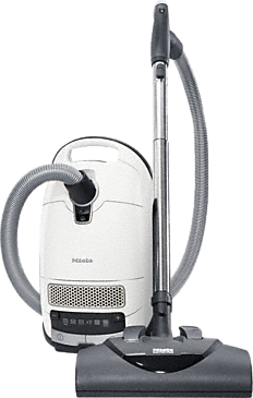 Complete C3 Cat&Dog PowerLine - SGEE0 - canister vacuum cleaners With turbobrush and odor filter; ideal for pet lovers.--Lotus white