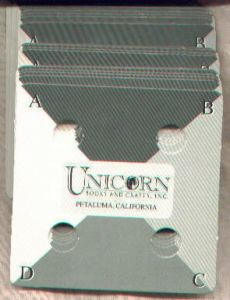 Unicorn Card Weaving