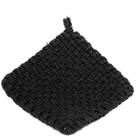 Black Potholder