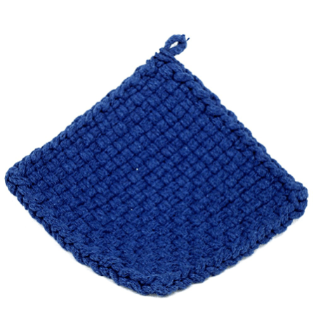 Blue Potholder
