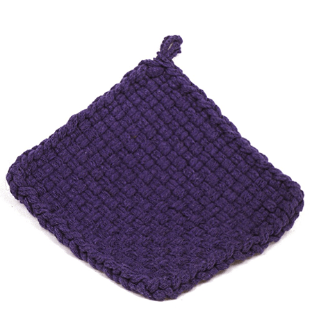 Purple Potholder