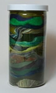 Green Fiber Jar
