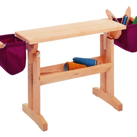 Schacht Loom Bench with Optional Bench Bags