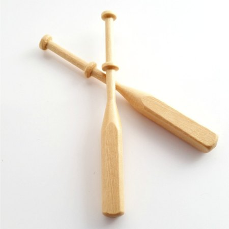 Square Hardwood Bobbins for Lacemaking