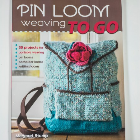 Pin Loom Weaving On the Go