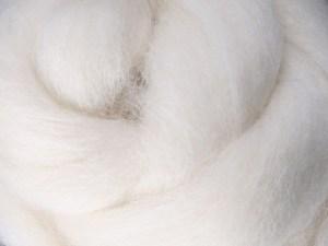 Ecru Wool Roving