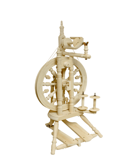 Unfinished Minstrel Spinning Wheel