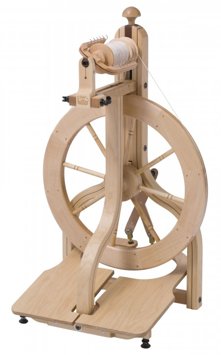 Double Treadle Matchless Spinning Wheel