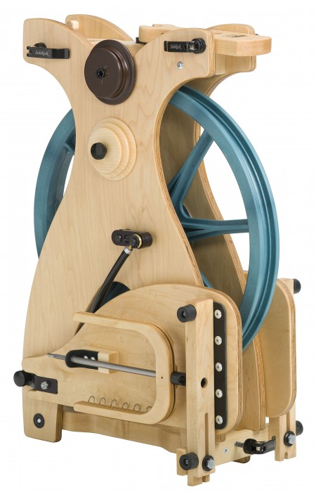 Folded Sidekick spinning wheel