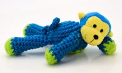 Top this Crocheted Stuff Animal