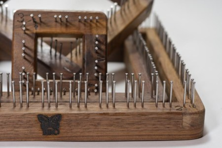 Pin Weaving Loom