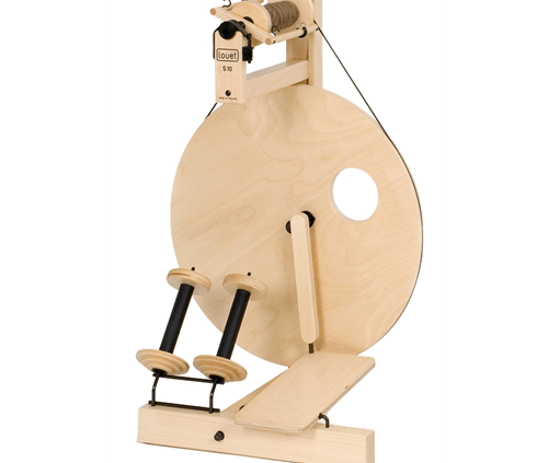Louet S10 Spinning Wheel, Single Treadle